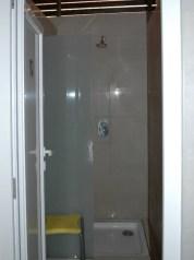 Duschkabine Damen gut ausgestattet