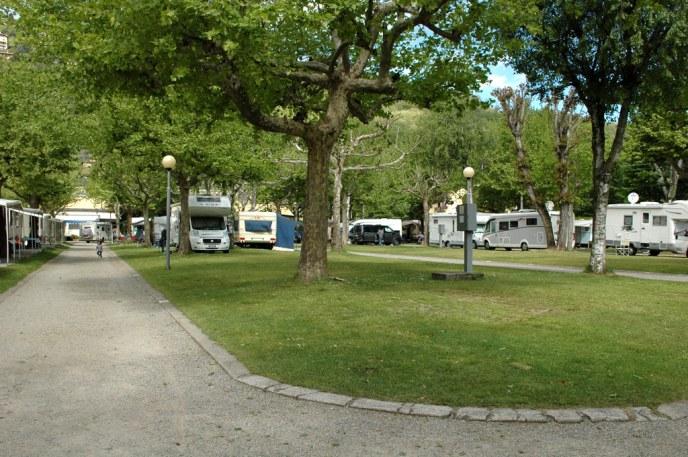 Camping Solcio nach Ostern leer