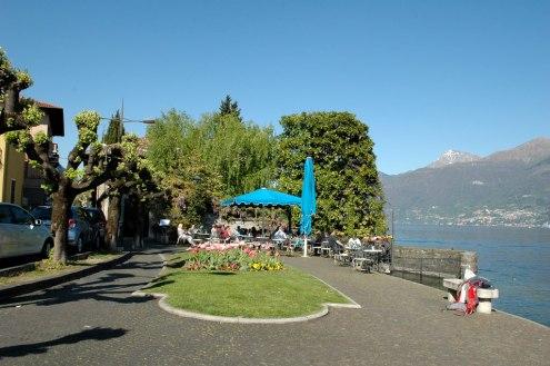 Comer See Menaggio Strandpromenade