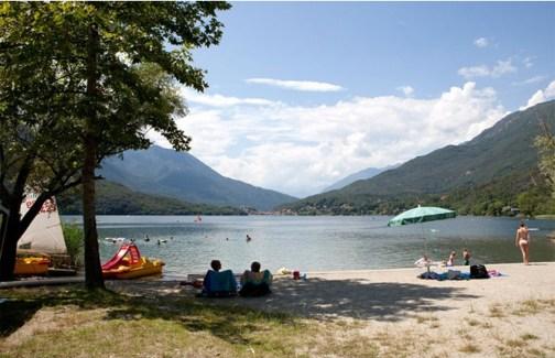 Lago di Mergozzo, Camping La Quite