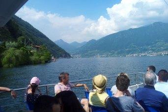 Bootsfahrt Iseosee nach Monte Isola