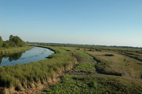 Das Naturreservat ist ca 33 km lang