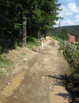 Weg zum Camp Ivan Do