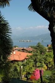 Blick von Stresa auf die Insel Isola Bella