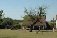 Ärmliche Bauernhäuser