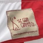 【初張り雨キャンプで浸水 (T_T)】the Glam Camping(ザ・グラムキャンピング)のStrawberries and Cream Bell Tent