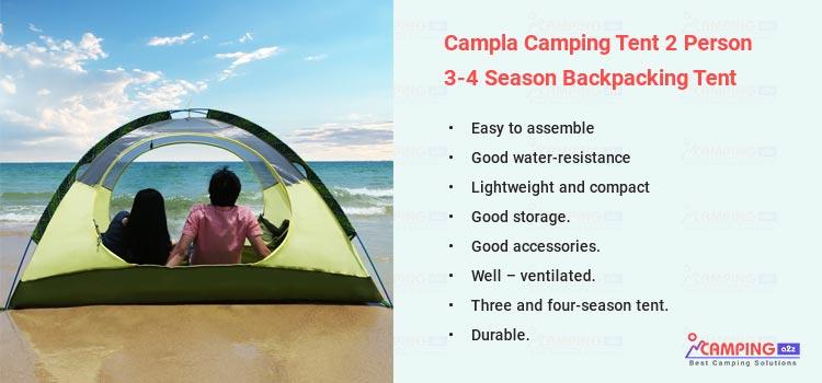 Campla 4 Season Backpacking Tent