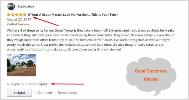 Kodiak Canvas Tents customer review