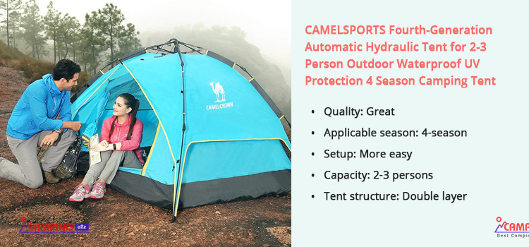 CAMEL Sports Fourth Generation Automatic Hydraulic Tent