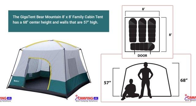 Giga tent Bear tent Mountain tent Family Tent