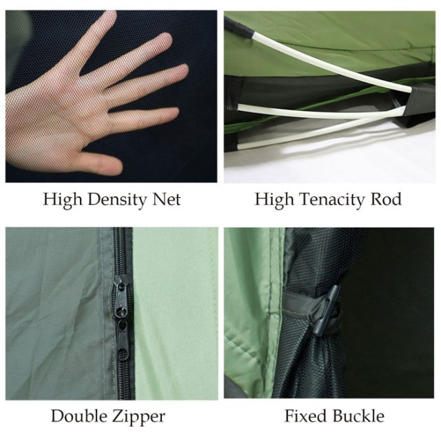instant tent material