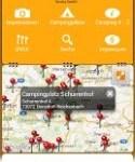 Camping app Tyskland