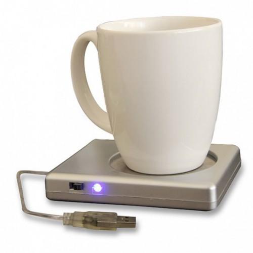 USB kokeplate til kaffe- eller tekopp