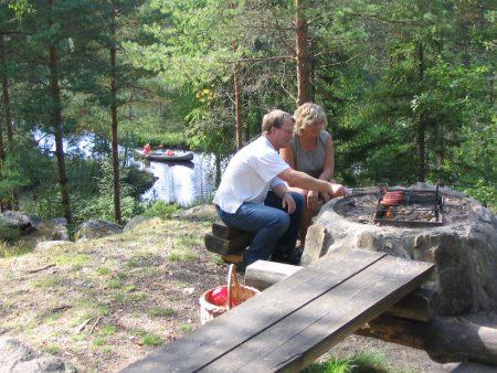 Kerstins Camping i Mellerud, Västsverige