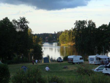 Ragnerudsjöns Camping i Högsäter, Västsverige