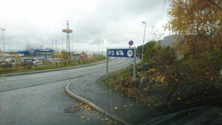 Bobilparkering Ikea Leangen