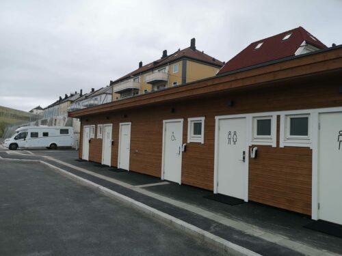 Fasiliteter ved Skjerva Bobilparkering