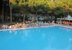 swimming pool at Ca' Savio