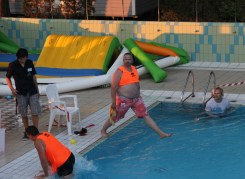 Olympic diver at camping ca savio