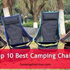 Comfortable Camping Chairs Wooden Padded Folding 10 Best Ultimately Chairman Have