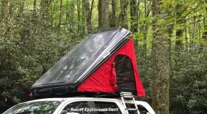 Roost Explorer Hard shell Rooftop Tent
