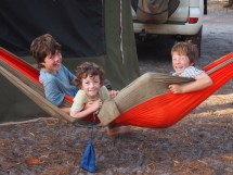 Barefoot Camping and Families