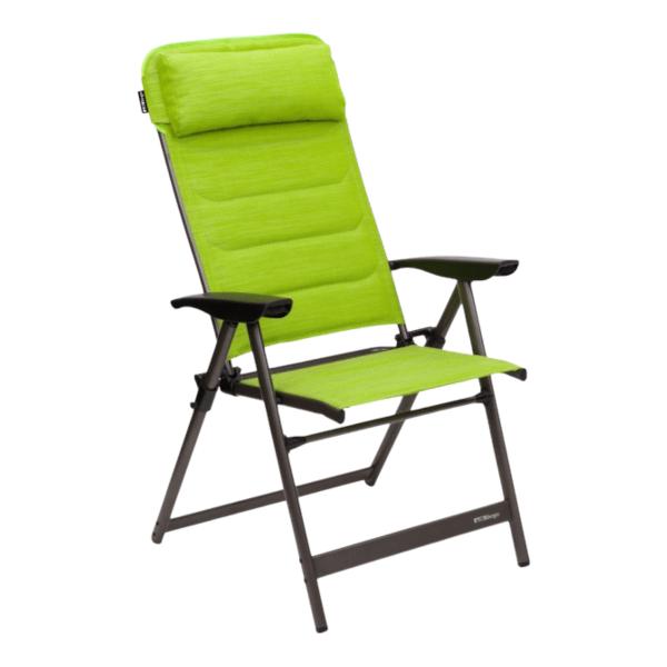 Camping-Klappsessel - Berger Slimline - grün schwarz