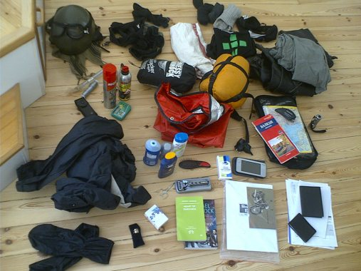 Image of how to pack a backpack