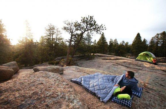 Image of best double sleeping bag