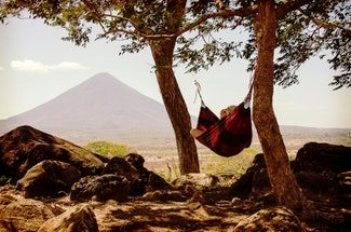 Image of hammock sleeping system