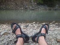 Image of womens hiking sandals