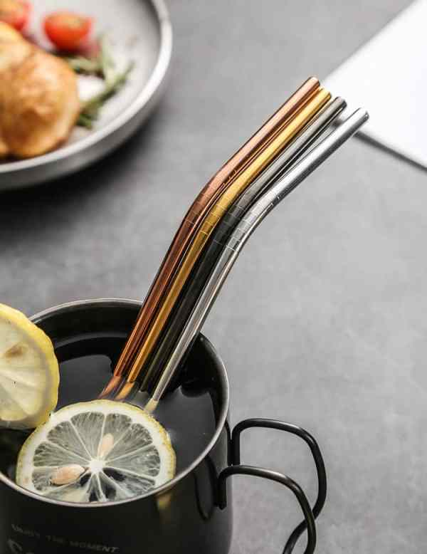 reusable straw stainless steel