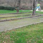 Terrain de pétanque et jeux camping amis de la nature Piriac