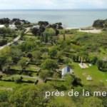 Vue aérienne du camping les amis de la nature Piriac