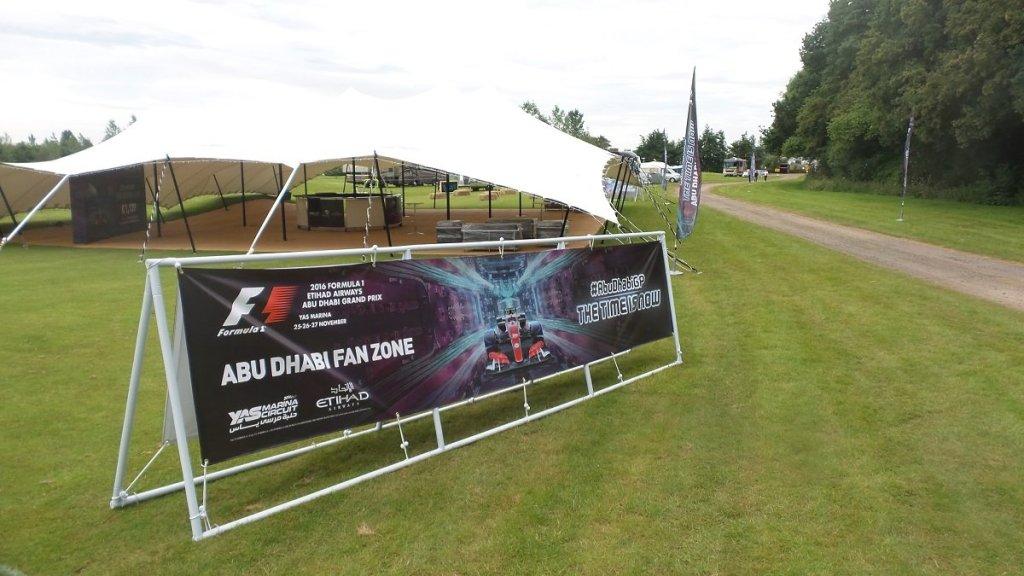 Abu Dhabi Fan Zone @ Whittlebury Park sponsored by Yas Marina