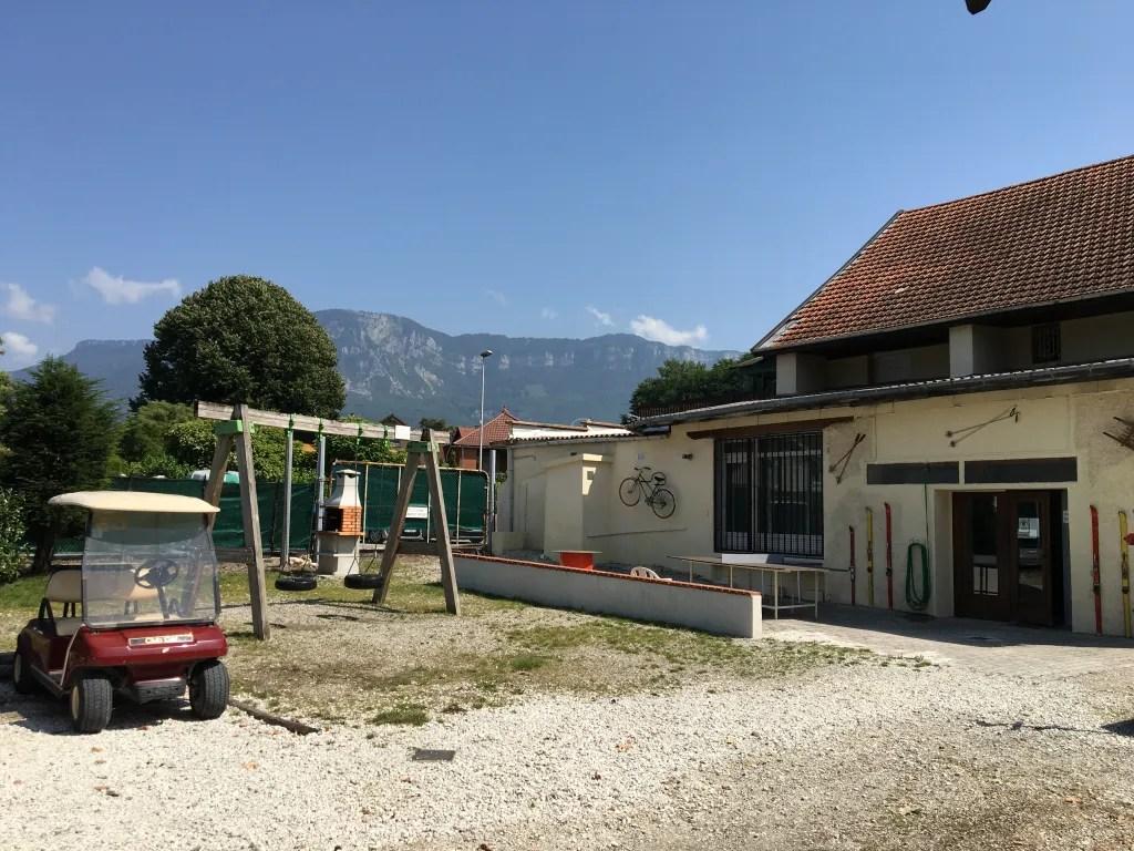 Camping Le Pêcheur à Aix les Bains - Jeux