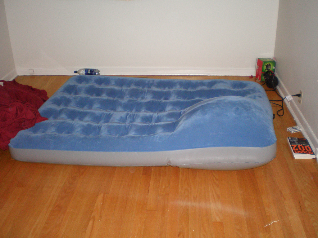 Inflated your mattress properly