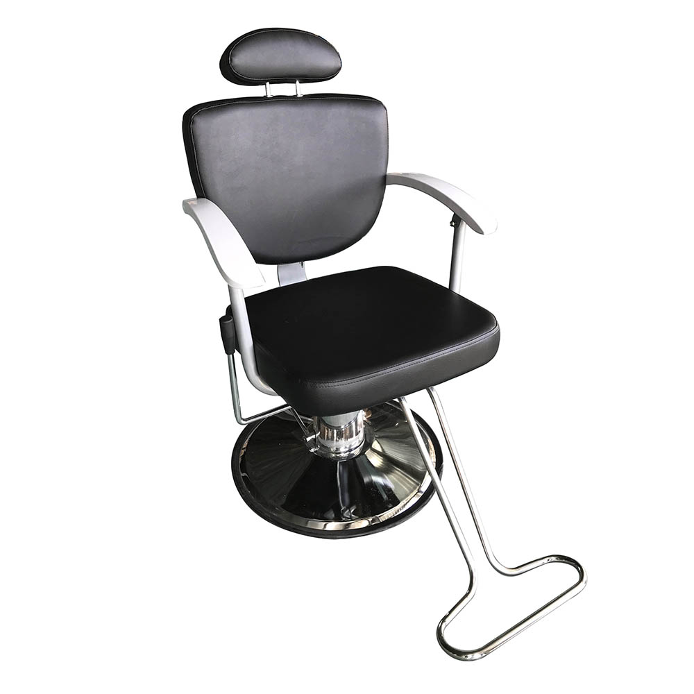 black salon chairs fishing bed chair double reclining all purpose hydraulic barber station beauty mat spa