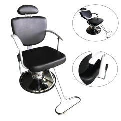 White Multi Purpose Salon Chair Wheelchair Van Service Reclining Black All Hydraulic Chairs Barber Station Beauty Mat Spa