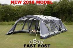 tente gonflable pour famille nouvelle personne 2018 kampa studland 8 personnes