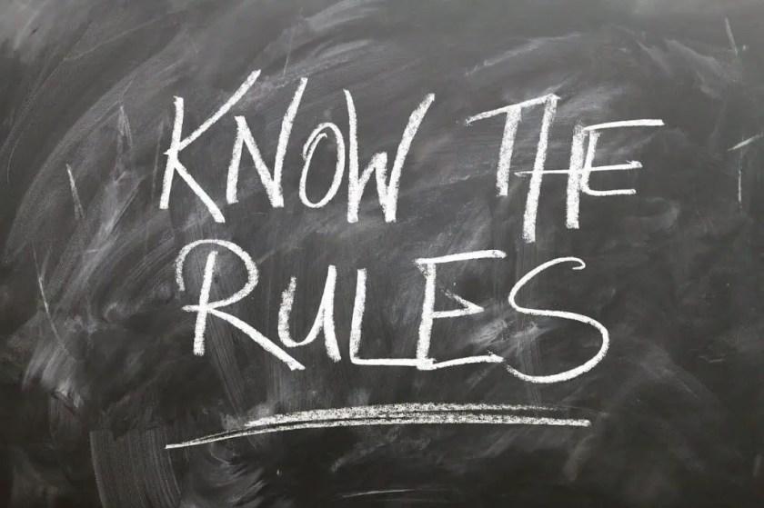 rules-on blackboard