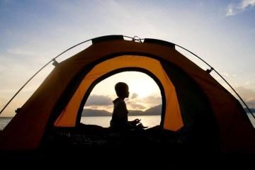 son my beach camping