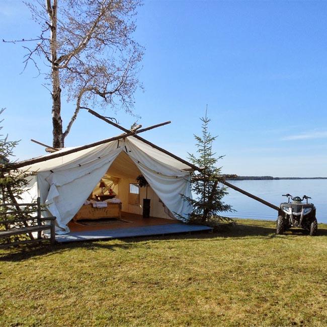 Lu Glamping campsite