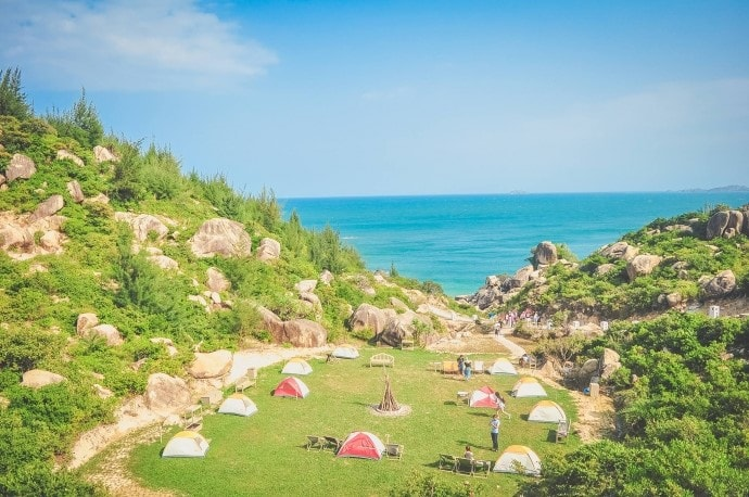 trung luong campsite