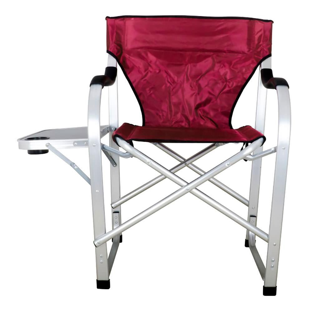 Folding Director Chair Folding Director Chair With Side Table