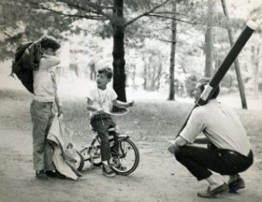 Ted Stein, cyclist, 1966