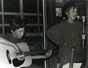 Mike Bronner and Chad Millman, 1981