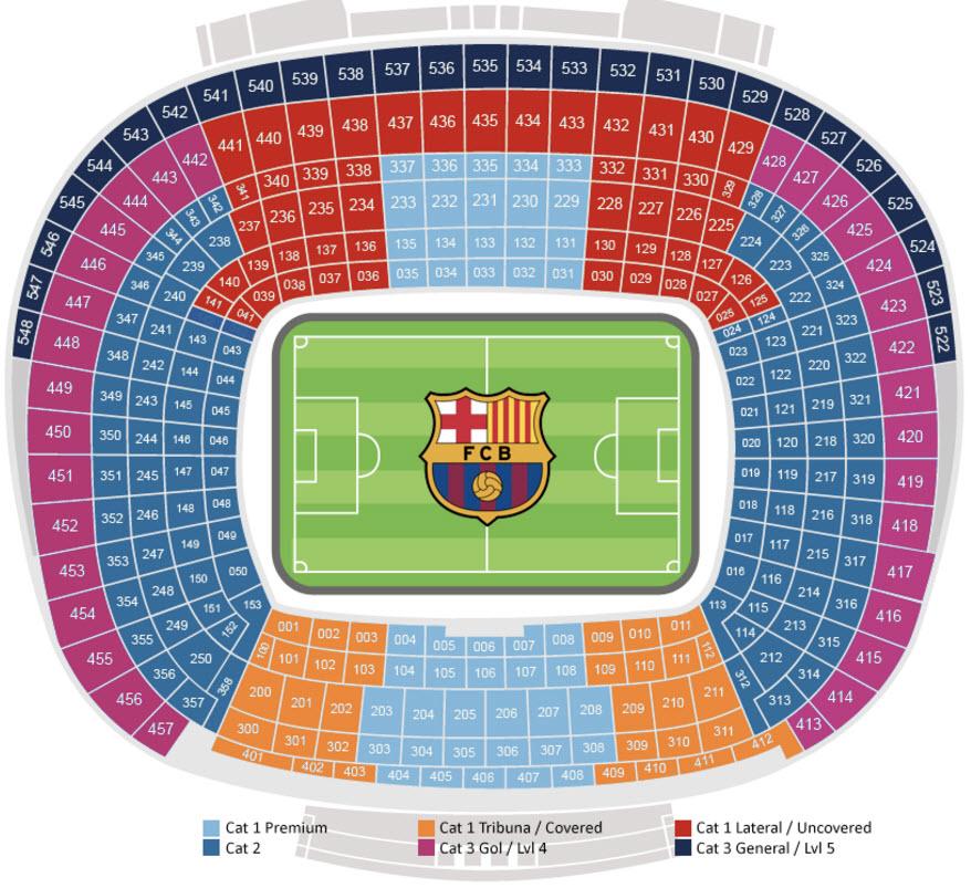 stadion dortmund plattegrond