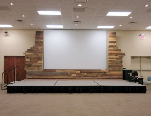 Camp Oak Hill Conference Center Stage
