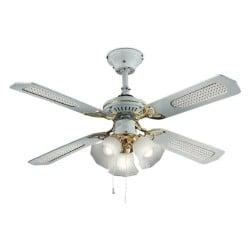 Vortice 61751 ventilatore da soffitto reversibile nordik evolution r,. Ventilatore Da Soffitto A Pale Con Lampadario Nordik 1s L 120 48 175w Vortice